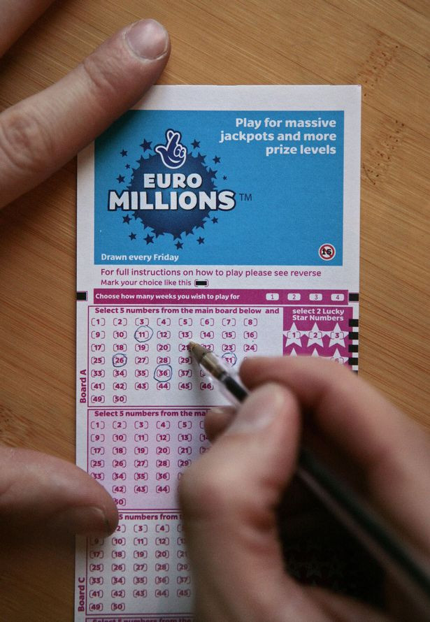 Lucky EuroMillions winner claims ?170million lottery prize