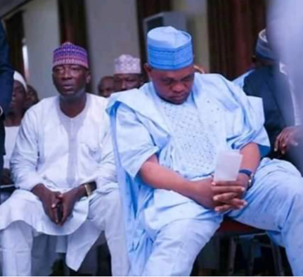 Kogi PDP?Guber candidate, Musa Wada spotted sleeping at a public event?(Photos)