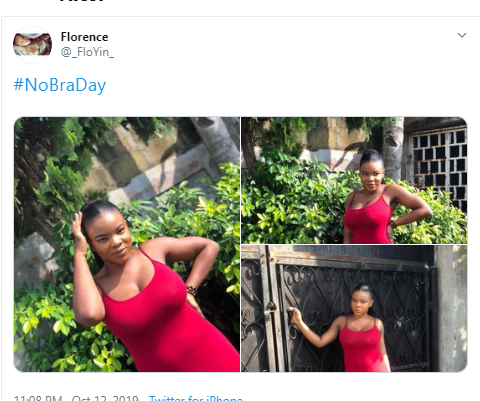 #No Bra Day: Women showcase their boobs as they go bra-free?(Photos)