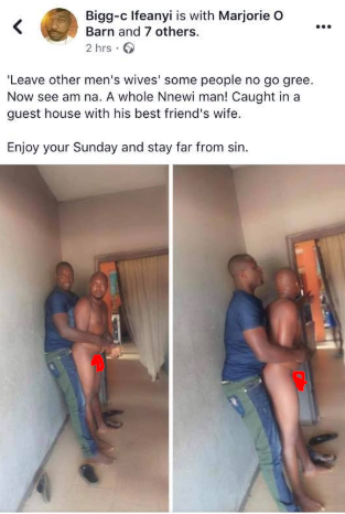 Man disgraced after being caught while trying to sleep with best friend