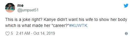 """Kanye West complains to Kim Kardashian about her """"too sexy"""" look and she claps back (video)"""