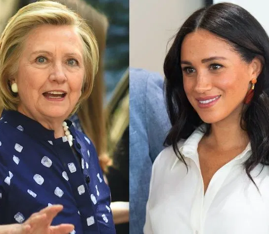 Hillary Clinton believes Meghan Markle is targeted by British tabloids because she's biracial