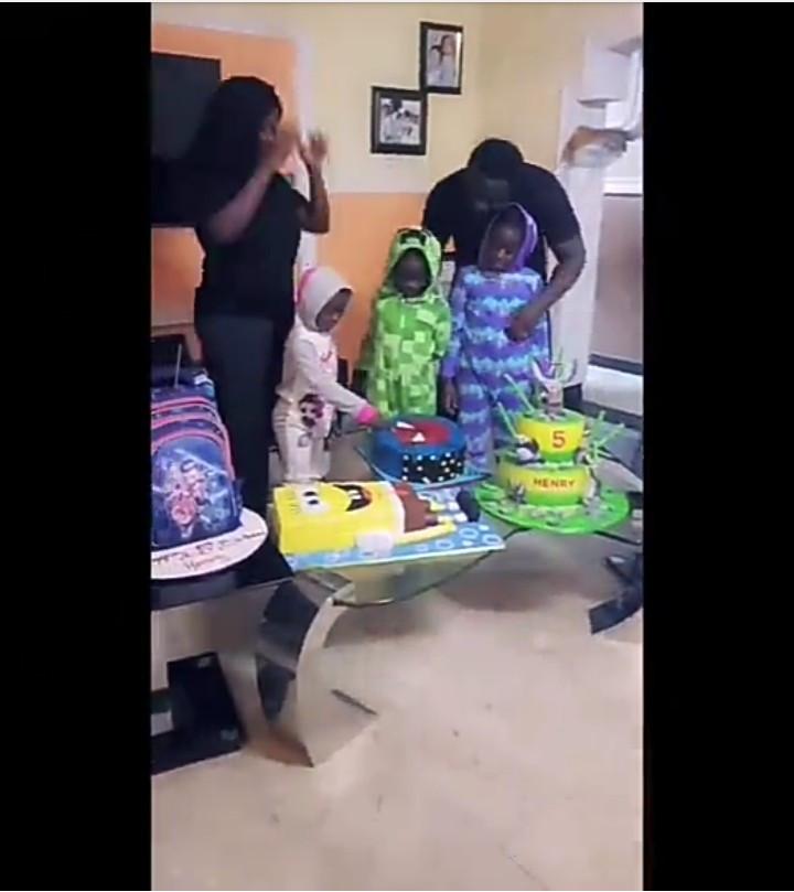 Mercy Johnson celebrates son Henry as he marks his 5th birthday
