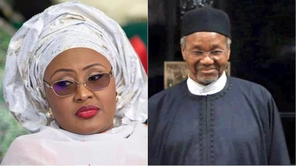 Aisha Buhari reveals why she 'attacked' Mamman Daura's family, says his daughter was laughing and mocking her (Listen to audio)
