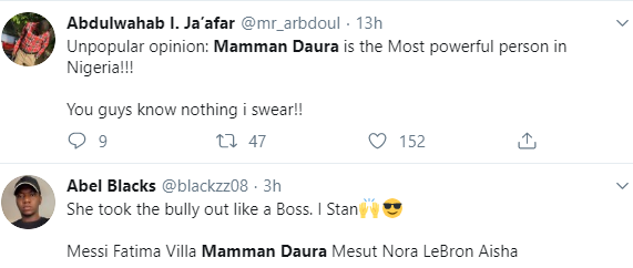 Why is Mamman Daura and his family members living in the villa?- Nigerians react to the Aisha Buhari leaked video
