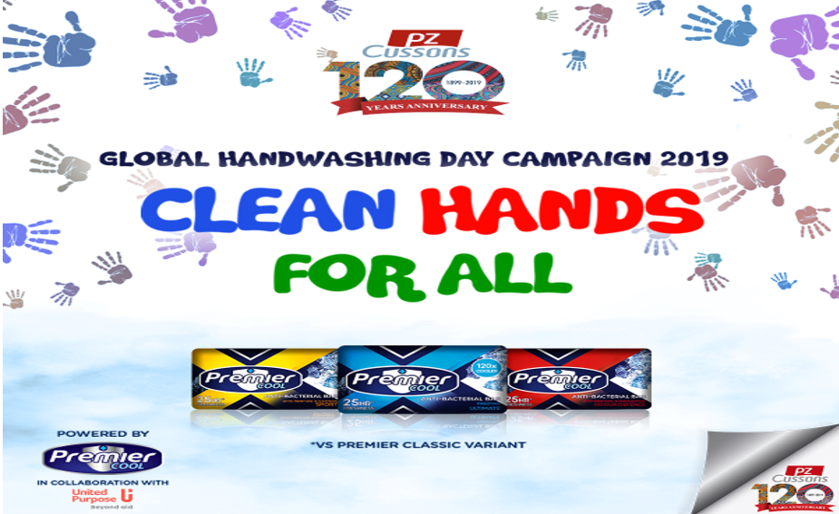 Global Handwashing Day 2019 - Premier Cool engages children with 'Clean Hands for All' Campaign!