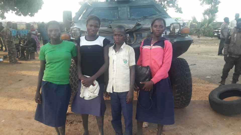 Soldiers rescue 4 students abducted in Kaduna
