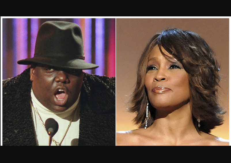 Whitney Houston and Notorious B.I.G nominated for 2020 Rock & Roll Hall Of Fame