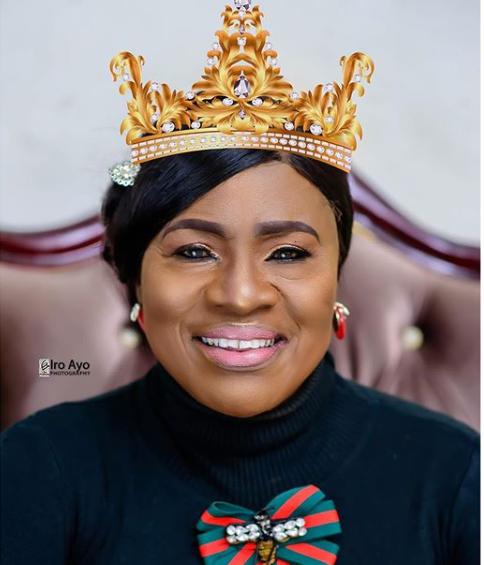 Veteran Nollywood actress, Mama Rainbow celebrates 77th birthday with stunning photos