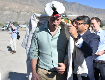 Kate Middleton wears same hat Princess Diana wore as she heads to Pakistan Mountains with Prince William