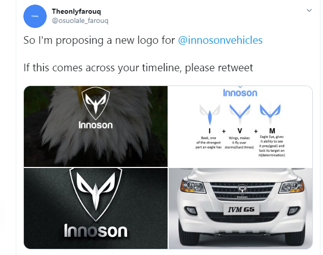 Nigerian man gets Innoson Chairman