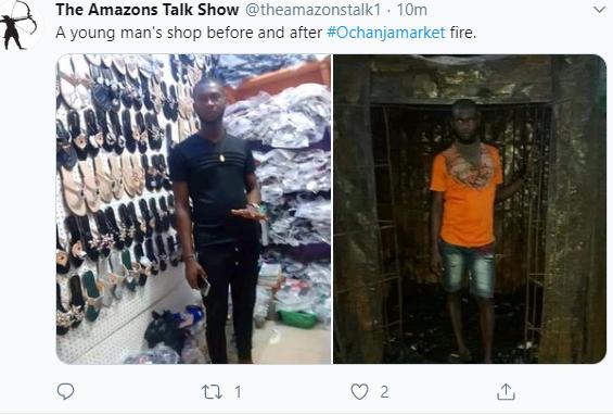 Sad photos show a young man