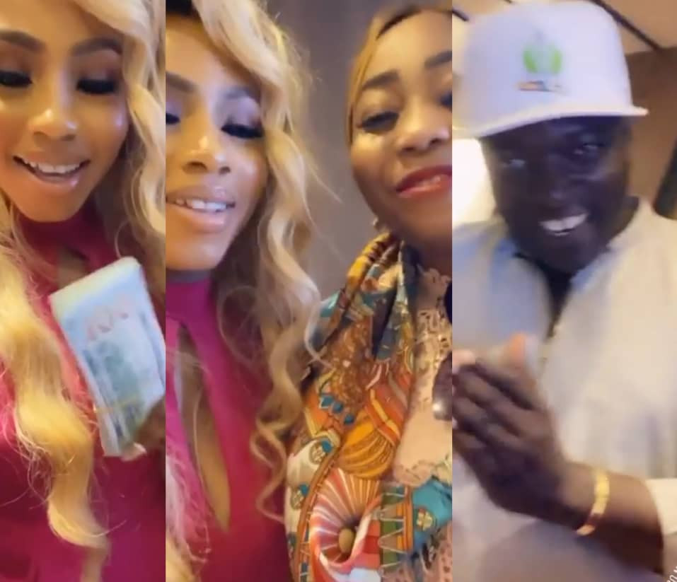 ''Not audio money'' #BBNaija winner, Mercy, says as she receives $10K cash gift