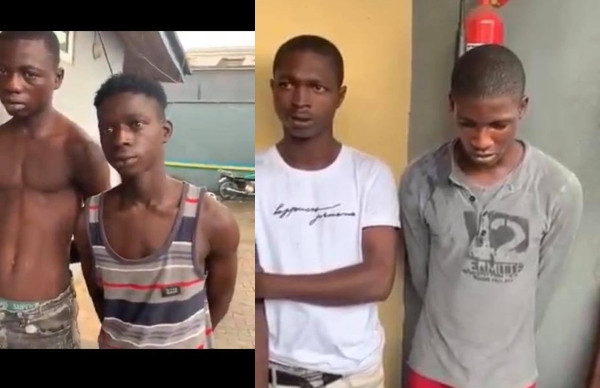 Cultists allegedly behind attacks on motorists in Ajah, arrested by the police (video)