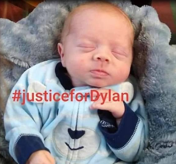 Parents charged with murder after their badly beaten four-month old baby was found dead with drugs in his system