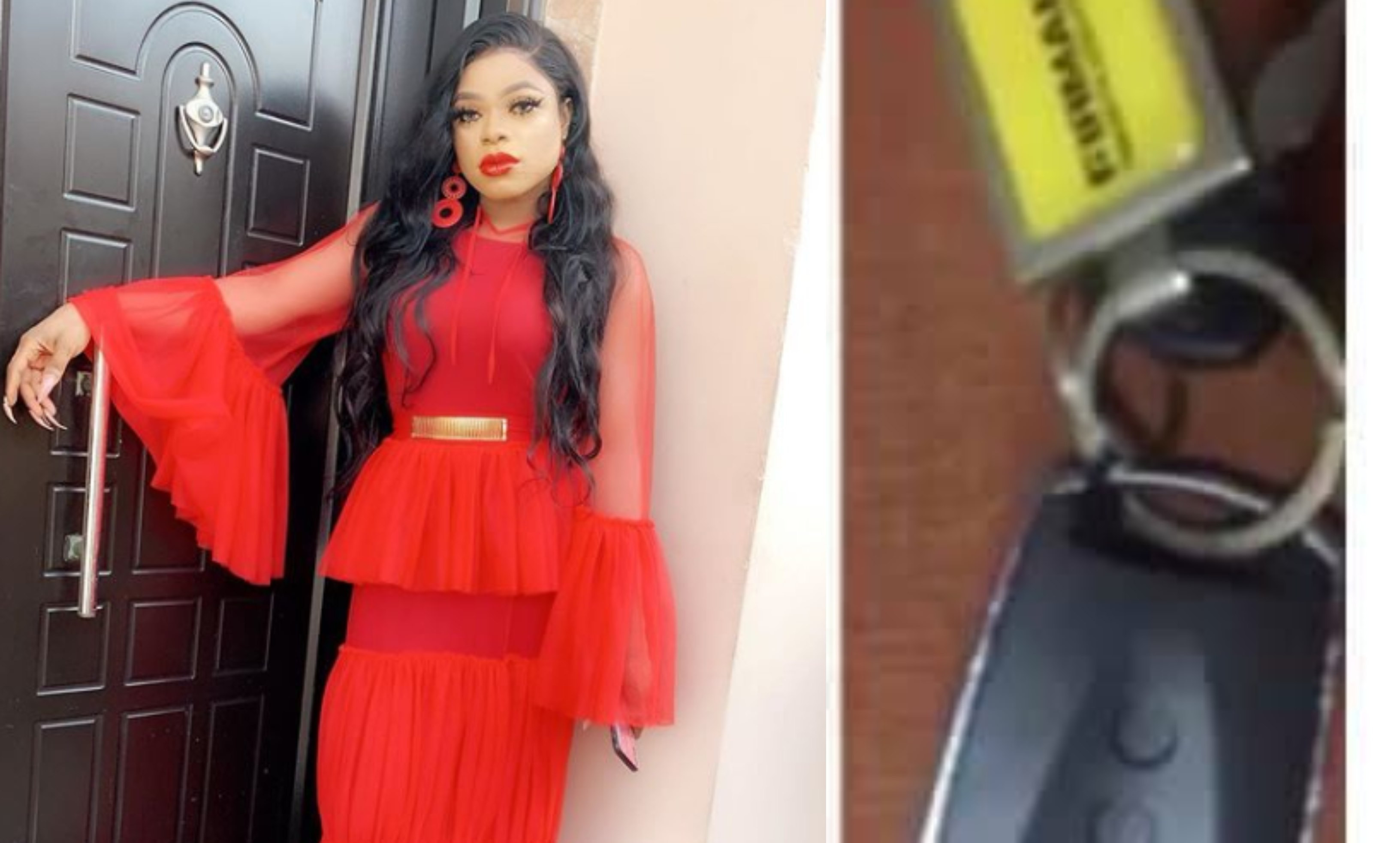 Bobrisky called out by followers for passing off a generator key as his car key (video)