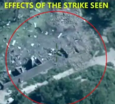 Nigerian Air Force bombs Boko Haram terrorists during a meeting (Video)