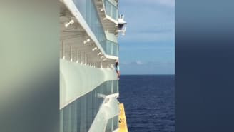 Woman banned for life from cruise ship for taking