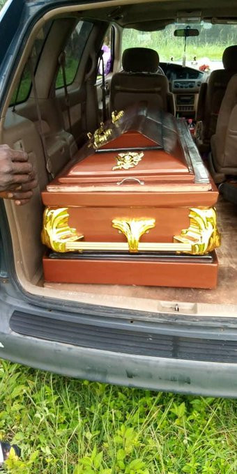 Photos from the burial ceremony of social commentator, Stanley Nwabia