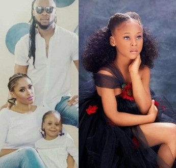 Sandra Okagbue and Flavour celebrate their first child, Gabrielle, as she turns 5 today