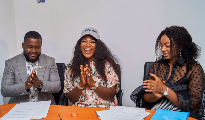 Mercy Johnson Becomes Pennek?s Brand Ambassador
