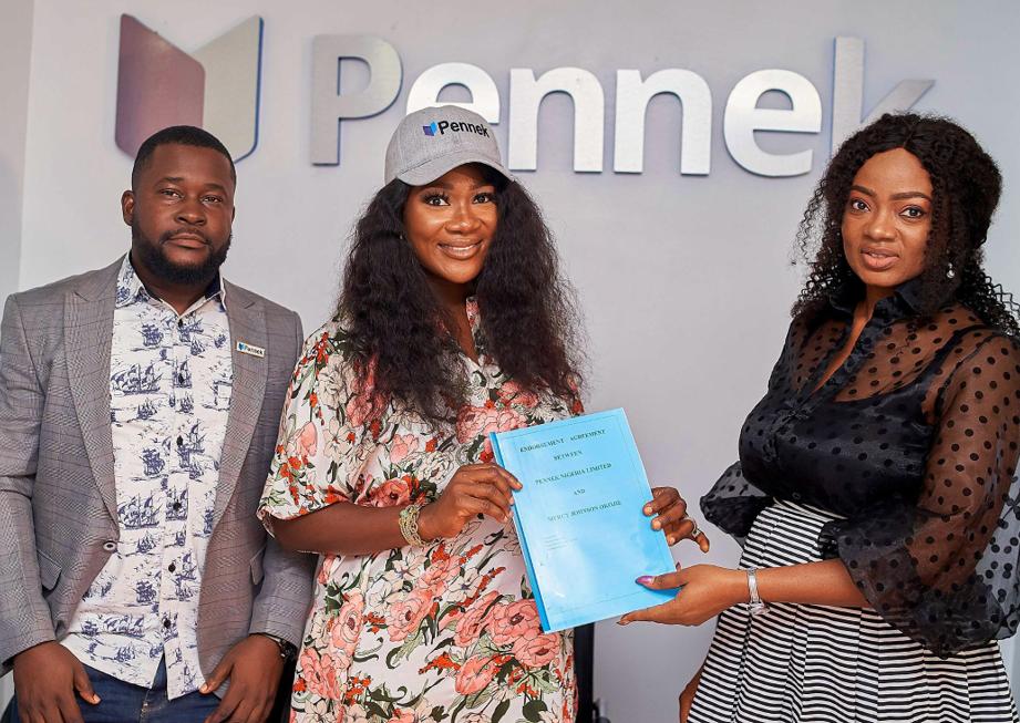 Mercy Johnson Becomes Pennek?s Brand Ambassador