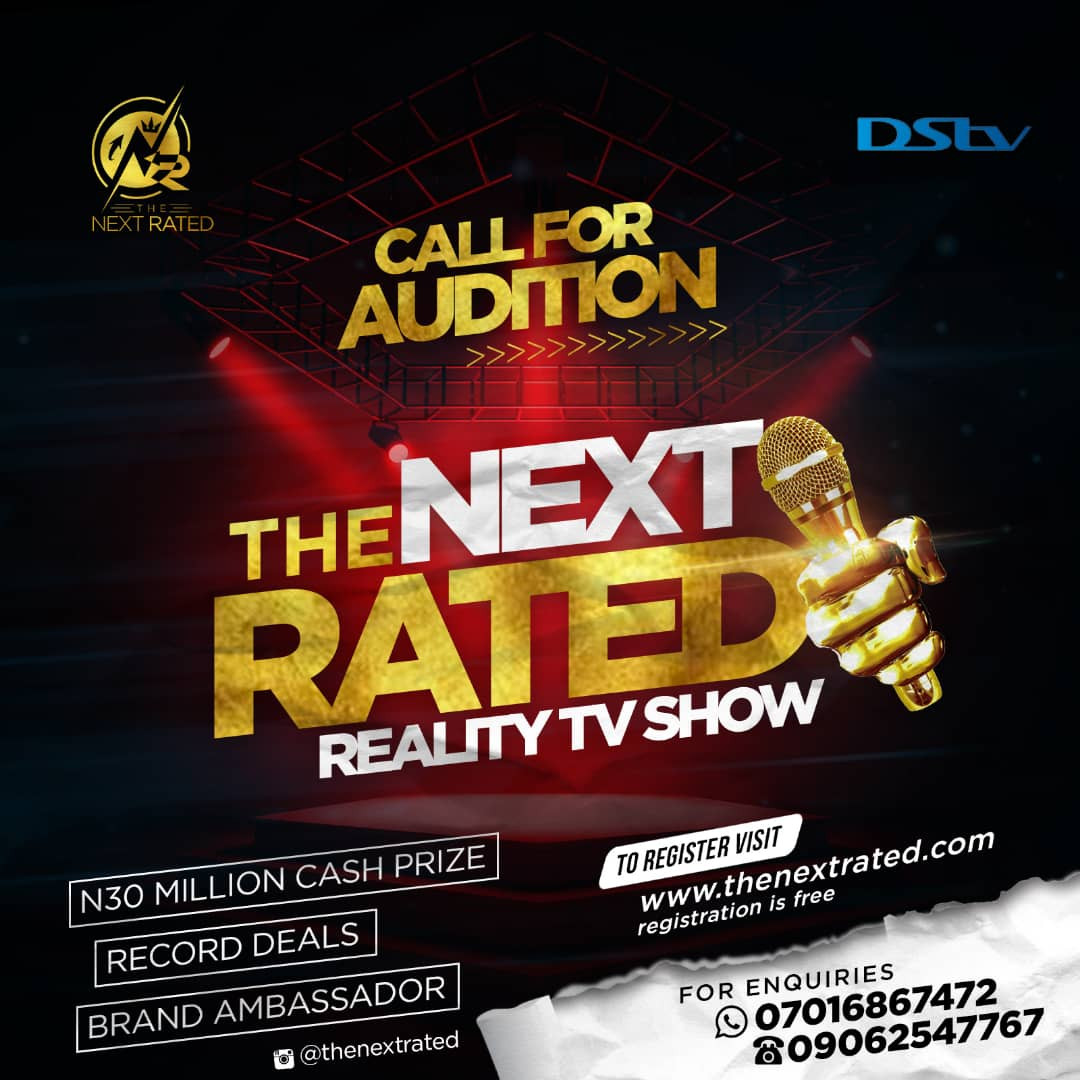 Audition Call to a 30 Million NAIRA Reality TV Show
