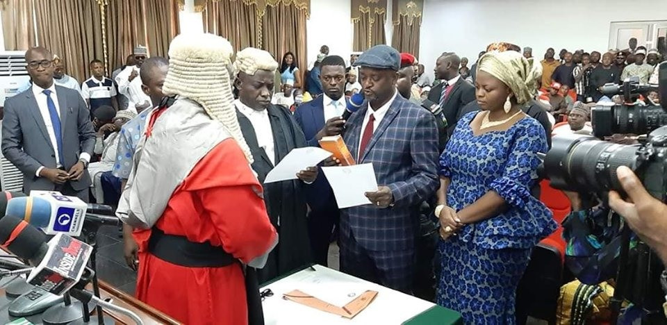 Kogi State Assembly confirms Edward Onoja as new deputy governor