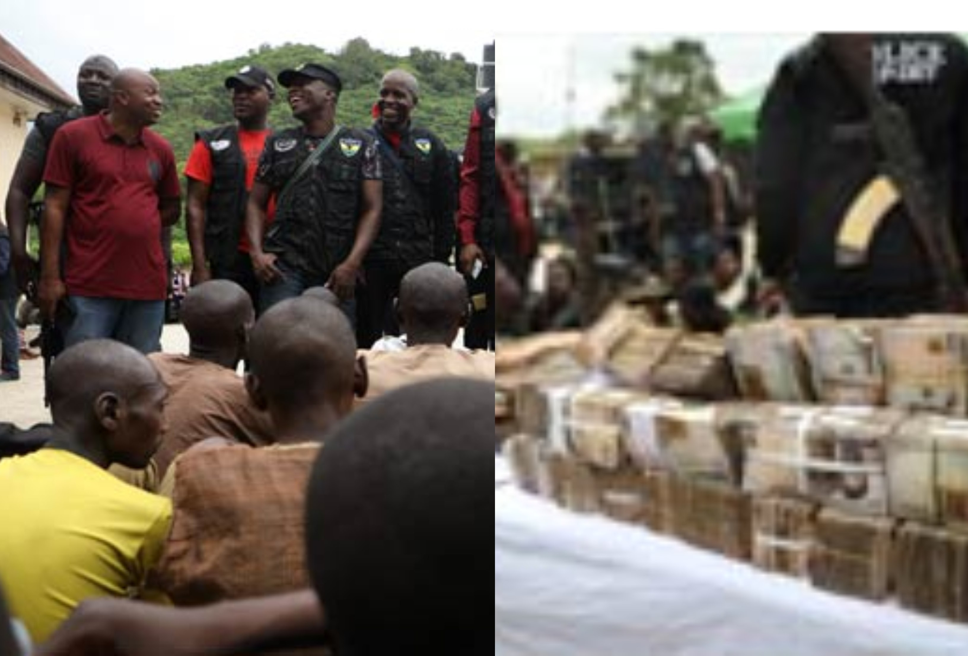 Police recover N10m ransom, parade 81 kidnappers and robbers