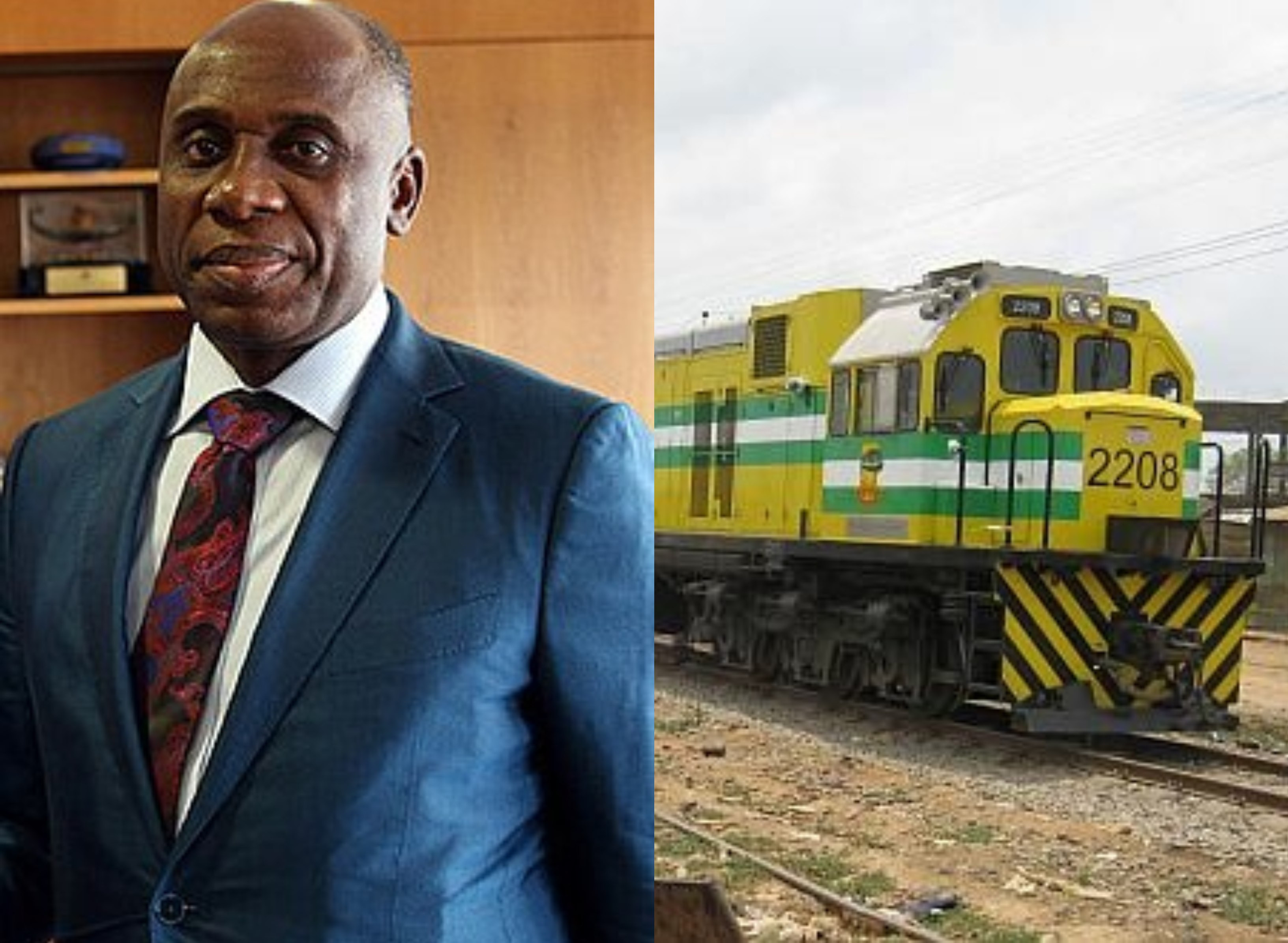 FG sent 150 Nigerians to China to study railway engineering - Amaechi