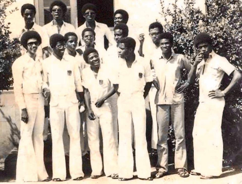 Ben Murray-Bruce shares throwback photo from his secondary school days