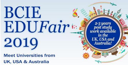 The BCIE Education fair is back again!!! A World Class Education Opportunity in the UK, USA & Australia..