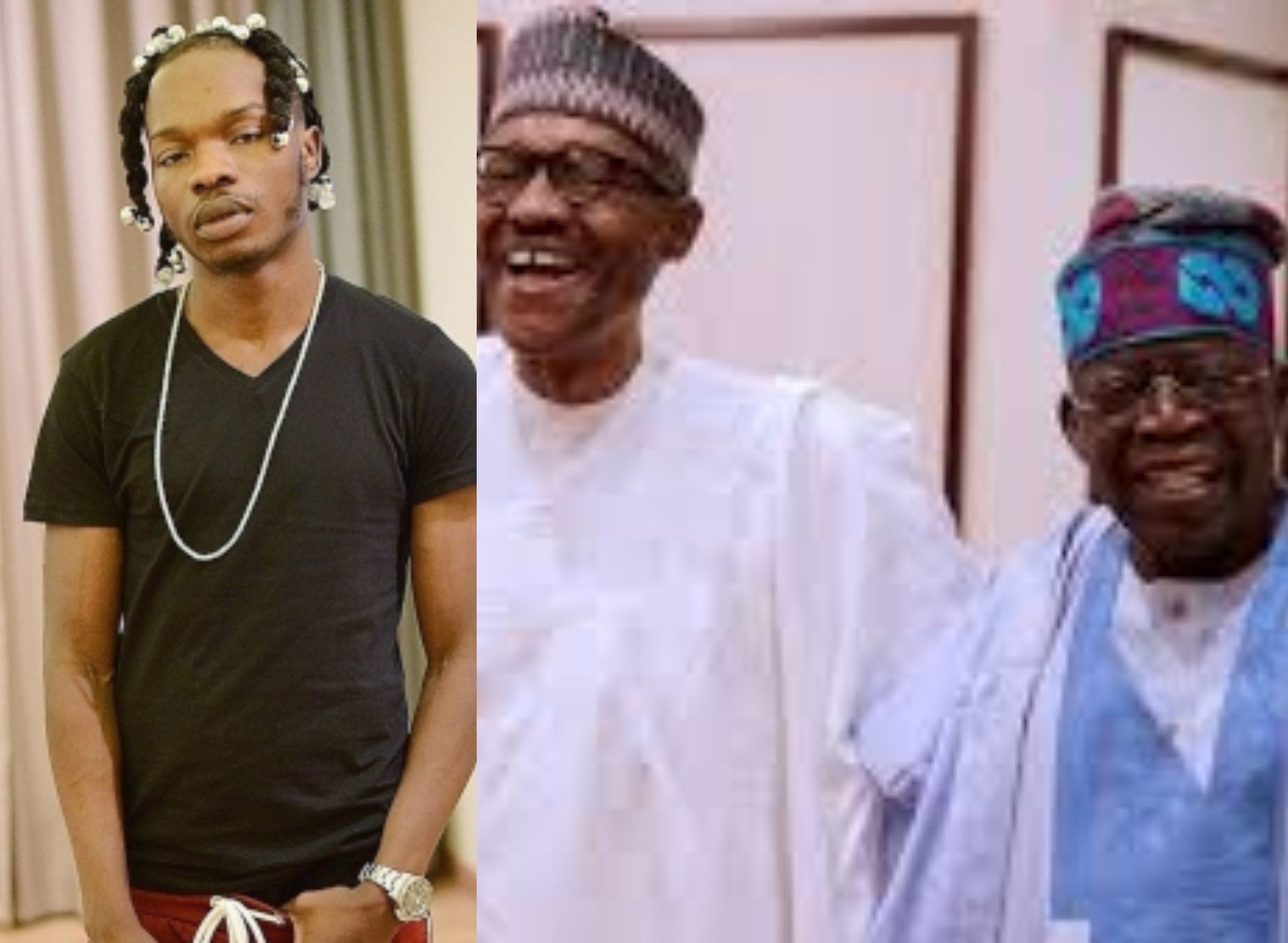 Naira Marley begs for Buhari and Tinubu