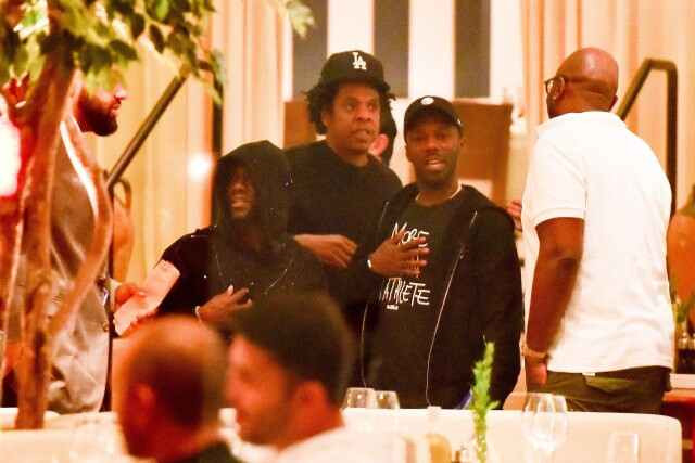 Kevin Hart spotted out in public for first time with Jay-Z after surviving a terrible car crash (Photos)