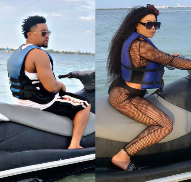 Nina complains about her inability to drive her new boyfriend