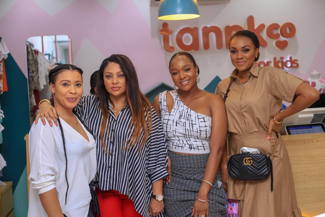 Photos from the opening of Anita Okoye
