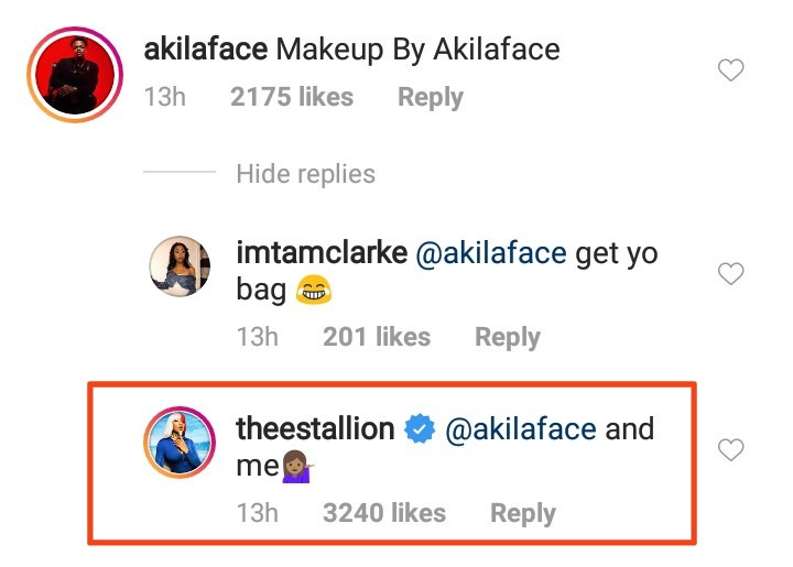 Megan Thee Stallion and her makeup artist fight over makeup credit after the singer didn