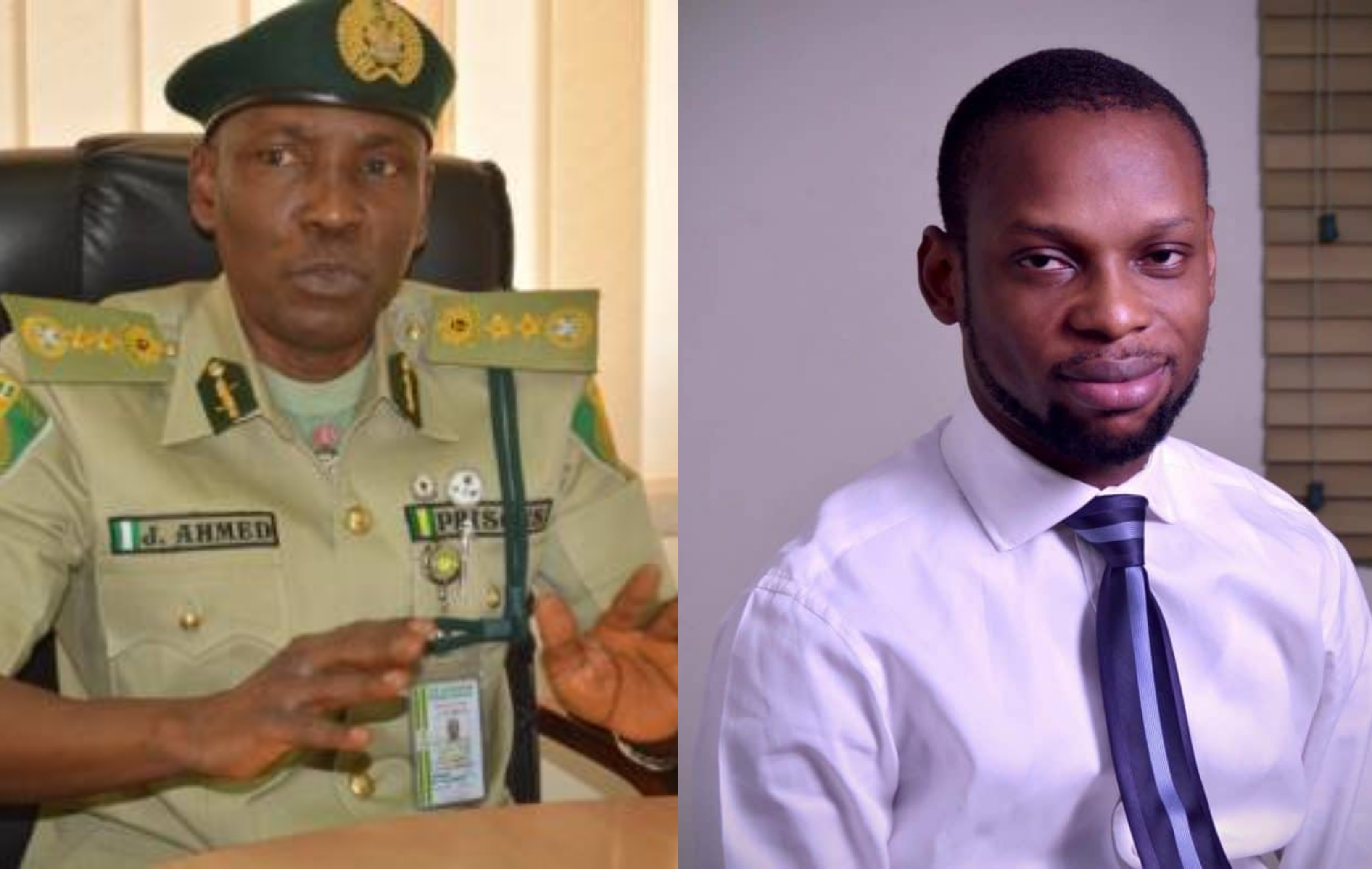 We are not planning to arrest investigative journalist Fisayo Soyombo, we are investigating Ikoyi Prison instead - NCS Controller-General, Ja?afaru Ahmed