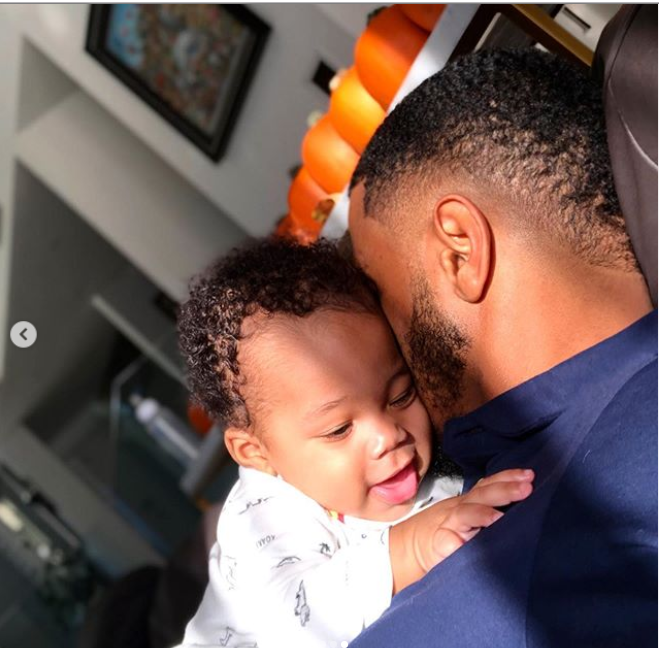 Daddy Duties! Trey Songz spends quality time with his son Noah (Photos)