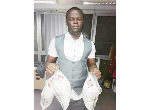 Nigerian man trafficking cocaine to finance his wedding, arrested