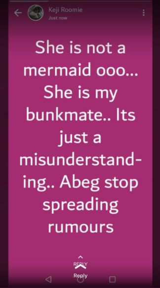 Eyewitness explains why Unilag student was arrested and rumoured to be a mermaid