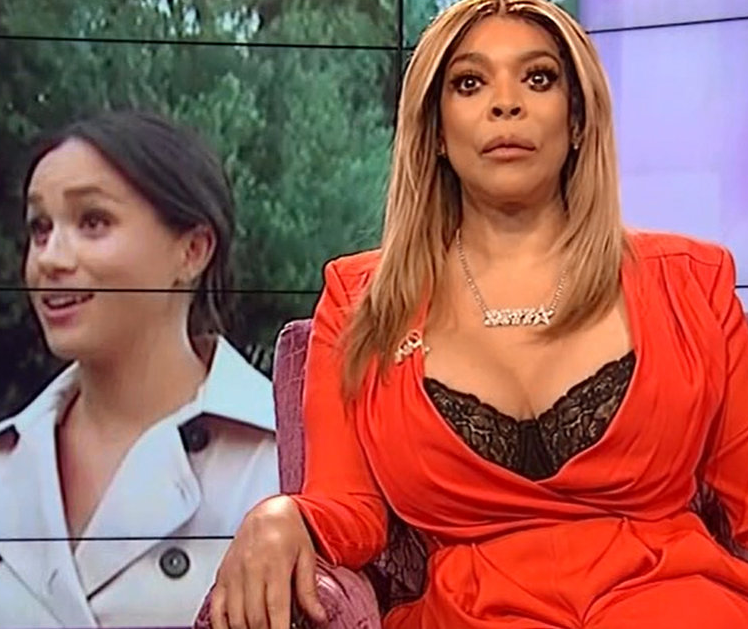 """""""Nobody feels sorry for you"""" - Wendy Williams accuses Meghan Markle of """"trying to garner sympathy"""" and narrates how Meghan once asked to work for her (video)"""