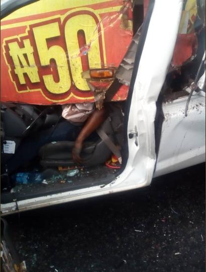 One killed in multiple accident on Otedola bridge (photos)