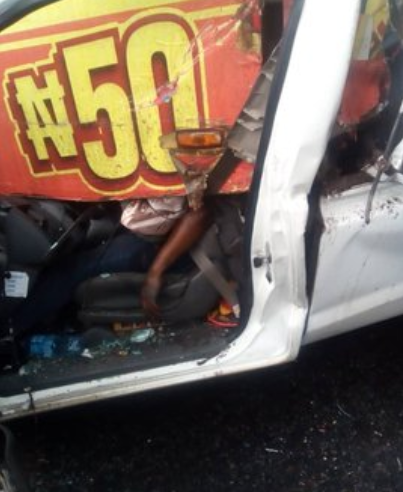 One killed in multiple accident on Otedola bridge (photos)