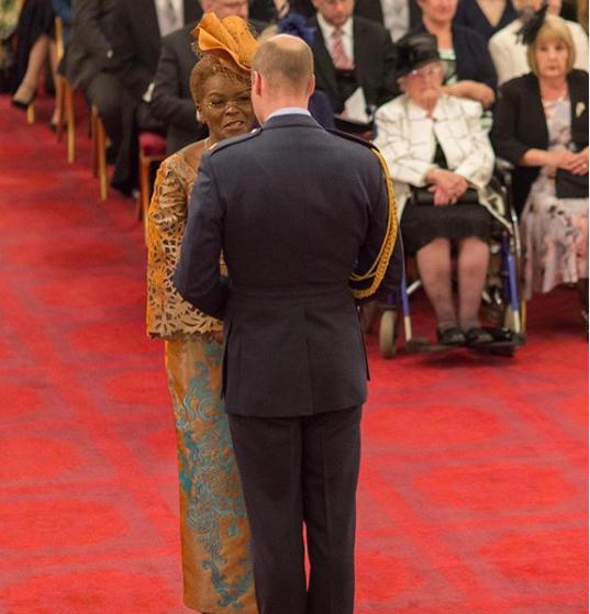 Nigeria's Dr Nneka Abulokwe Awarded OBE By Her Majesty Queen Elizabeth II [Photo]