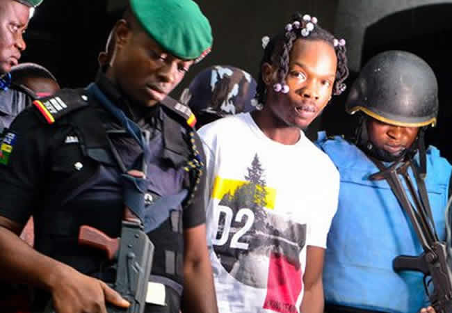 Stolen UK, US banks' credit card among evidence allegedly found in Naira Marley's laptop