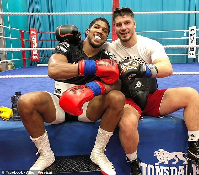 Anthony Joshua brings in German heavyweight Albon Pervizaj as new sparring partner ahead of rematch with Andy Ruiz Jnr (Photo)