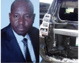 Video of abduction scene of federal high court judge, Abdul Dogo, surfaces online (listen to eyewitness account)