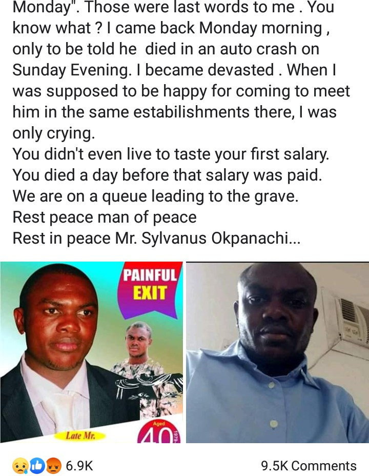 Man who searched for a job for 6 years dies one day before he was to receive his first salary at his new job
