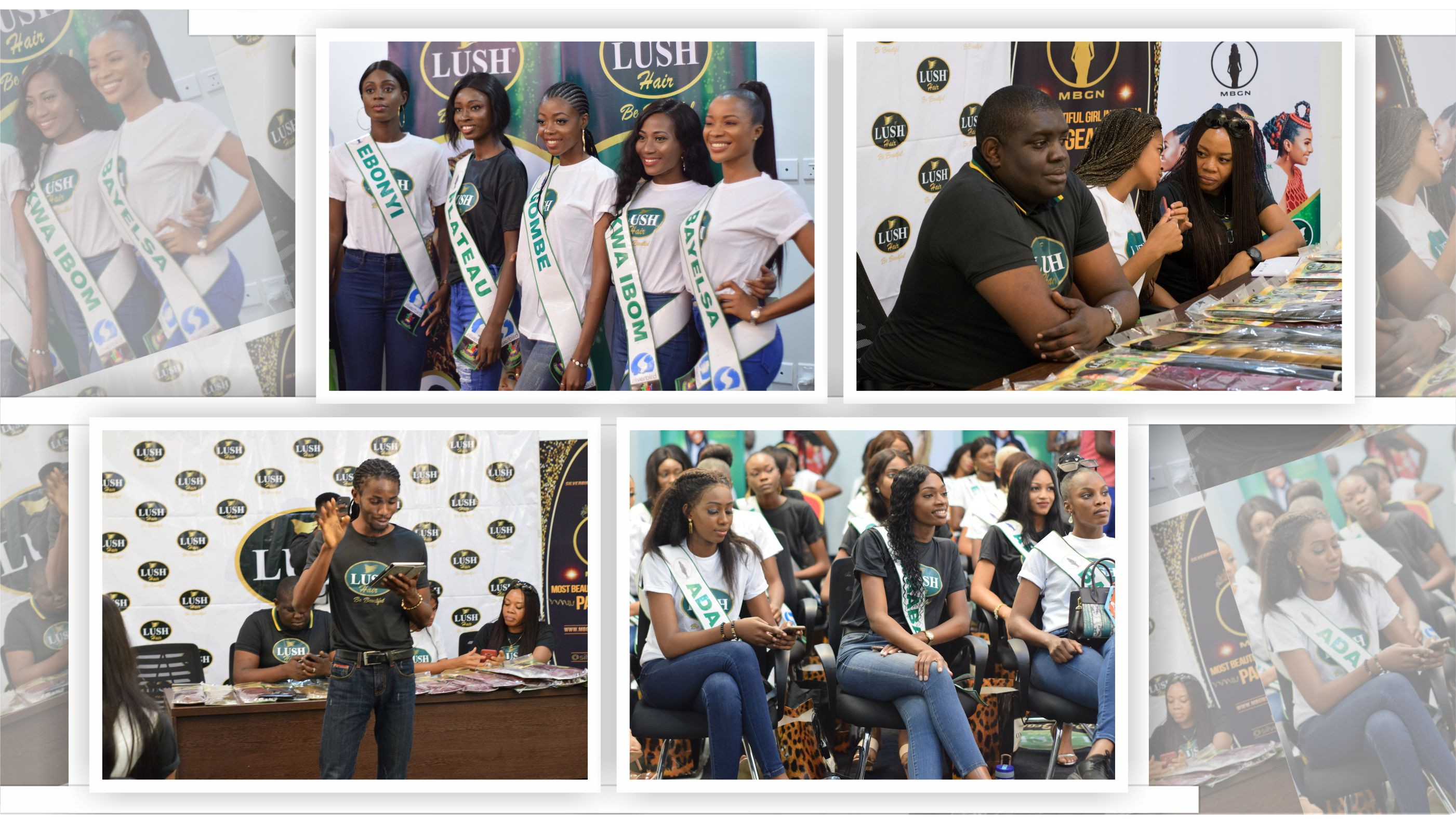 Miss Adamawa of 2019 MBGN Pageant Becomes Lush Hair Ambassador